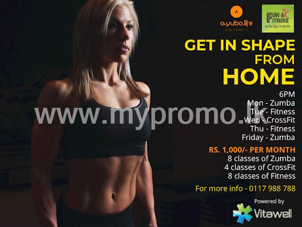 Get in Shape From Home just for Rs.1000