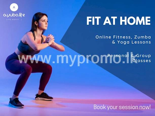 Book your Online Fitness, Zumba and Yoga Classes with professional trainers now on ayubo.life app and Stay Fit