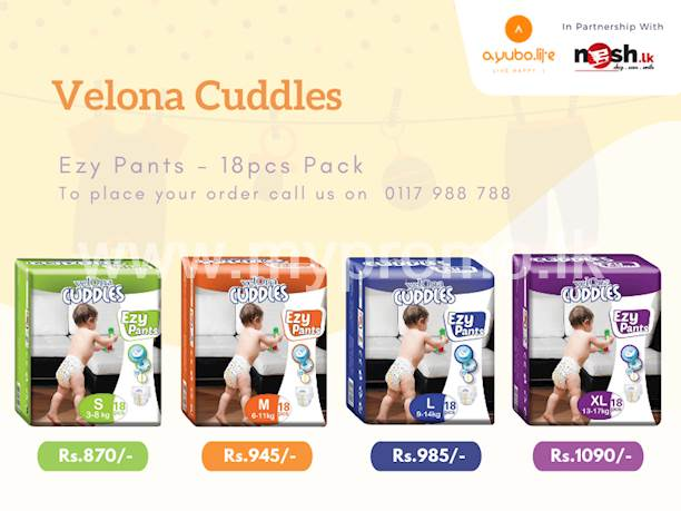Get Velona Cuddles Ezy Pants Diapers Delivered To Your Door Step By Ayubo.life!