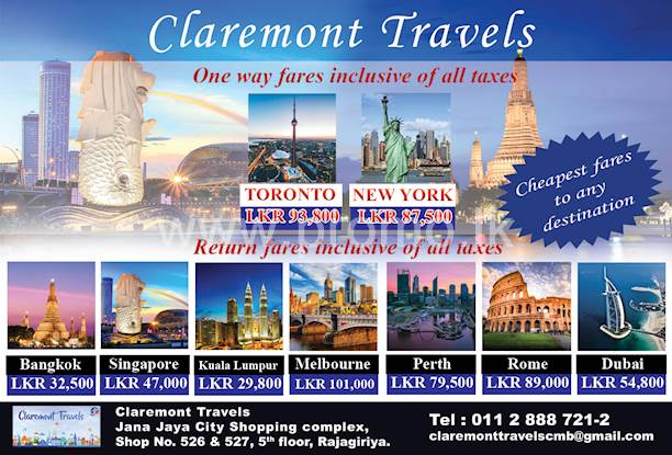 CLAREMONT TRAVELS