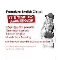 Professional English Classes Panadura