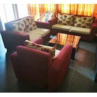 6 Seater Mahogany Sofa Set