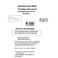 Job Interview Skills Training Programme Panadura