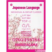 Japanese Language Tuitions and classes