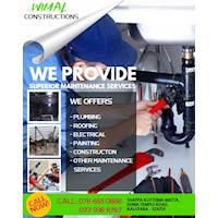 Maintenance Services - නඩත්තු කාර්යයන්