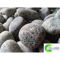 Black Pebbles For Landscaping