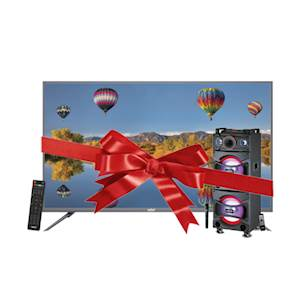 Sanford 40 Inch FHD LED TV - SF-9507LED with Sound Mini Hifi System SF-2271SS