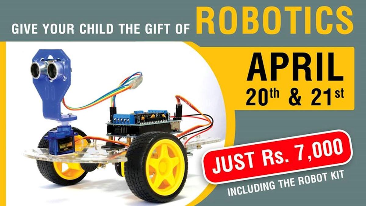 Robotics Workshop at Esoft Metro Campus