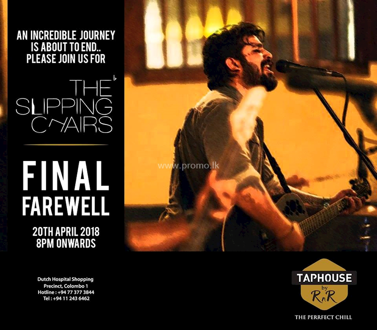 The Slipping Chairs Final Farewell at Taphouse by RNR