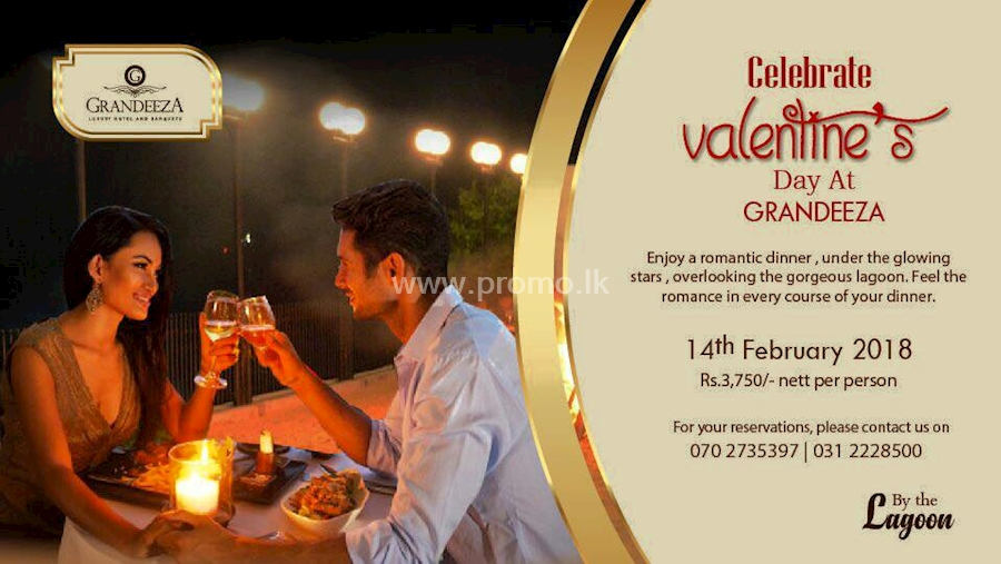 Celebrate Valentine's Day At Grandeeza