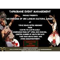 Sri Lankan Cultural Dance Show in Negombo