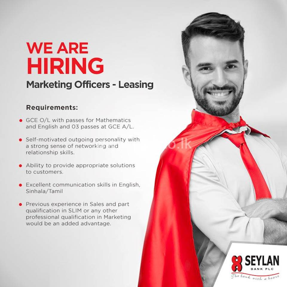 Marketing Officers - Leasing