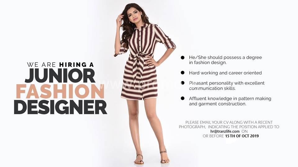 Junior Fashion Designer At Kelly Felder