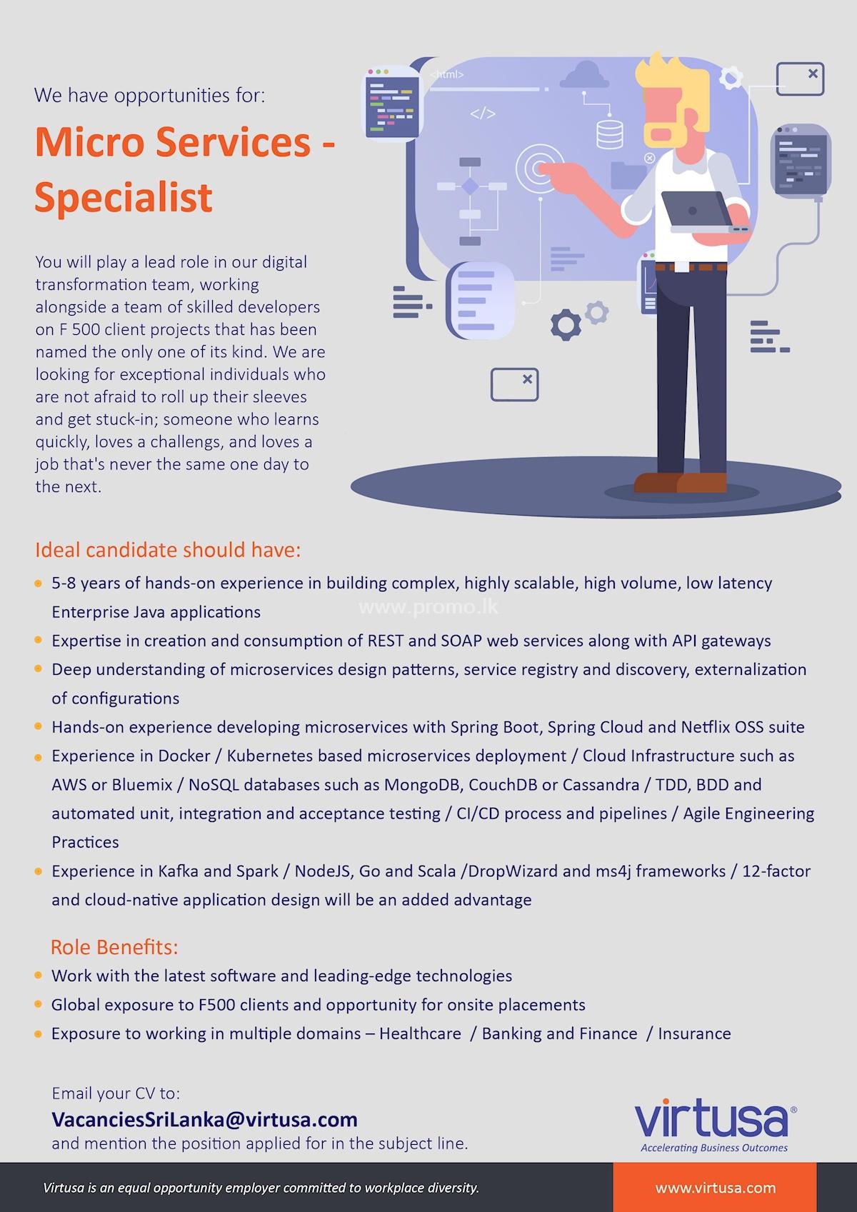 Micro Service - Specialist