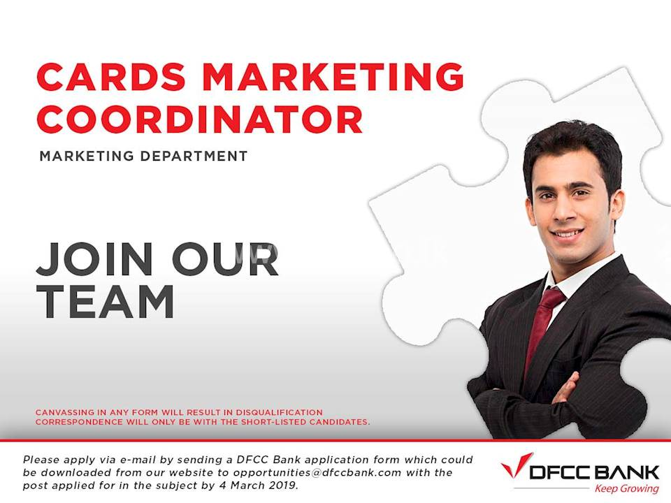 Cards Marketing Coordinator