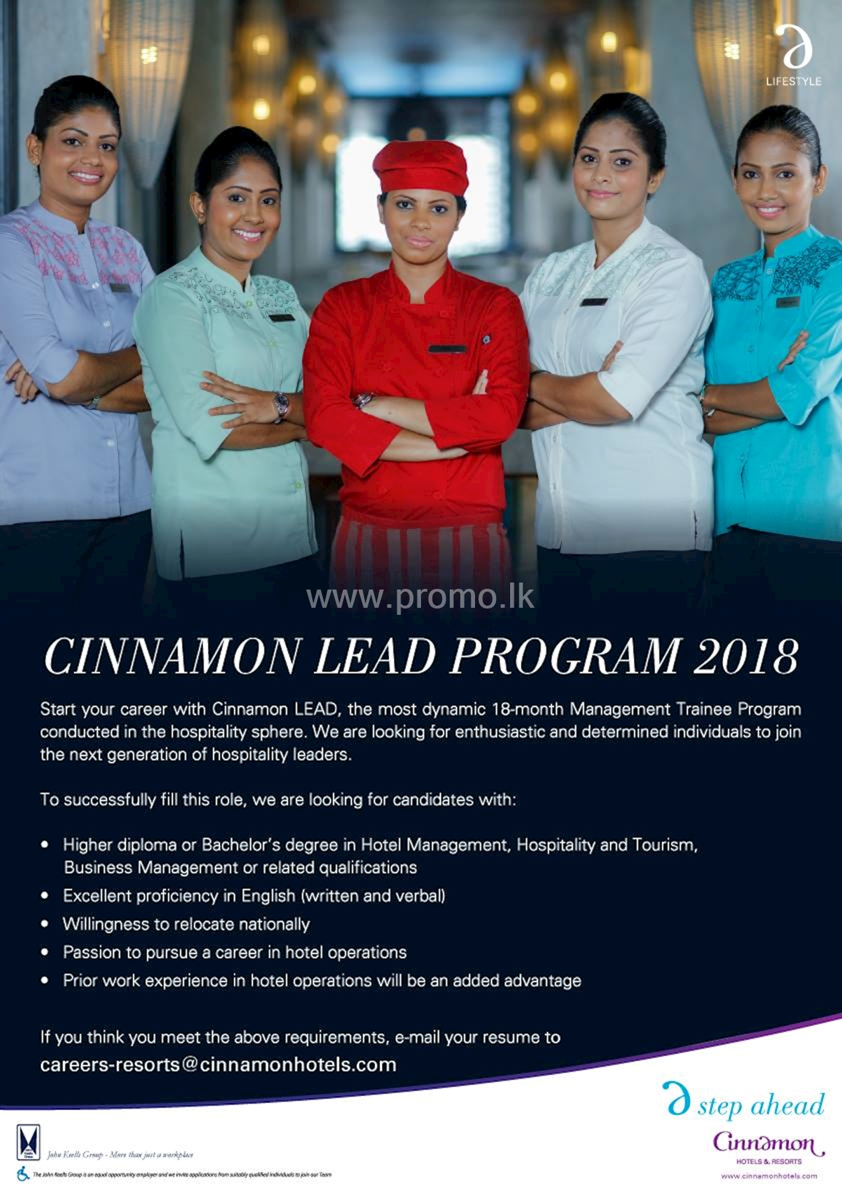 Management Trainee at Cinnamon Hotels