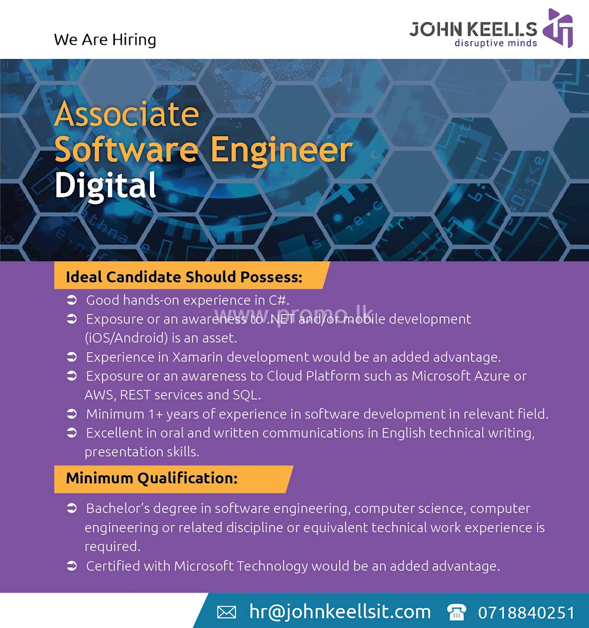 Associate Software Engineer Digital