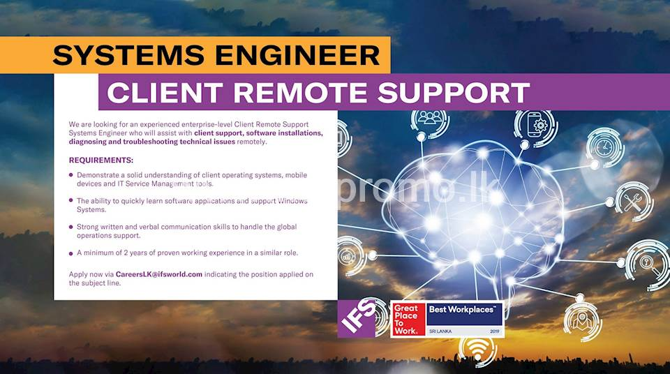 Systems Engineer - Client Remote Support