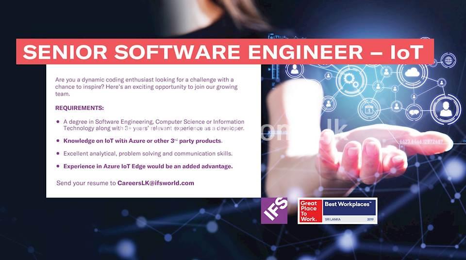 Senior Software Engineer - IoT