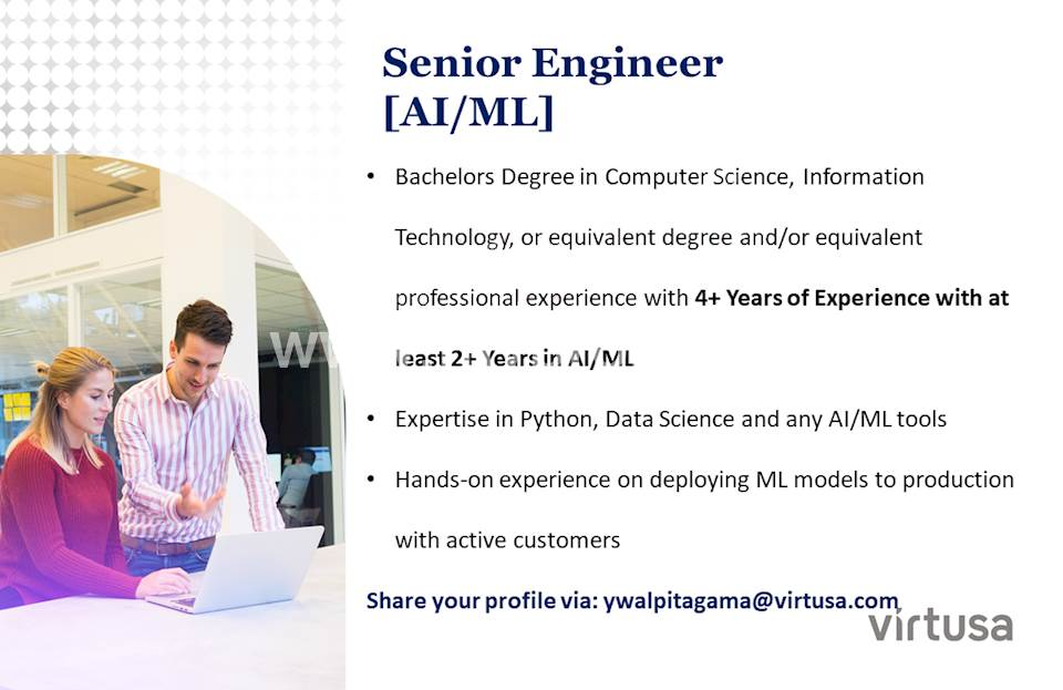 Senior Engineer (AI/ML)