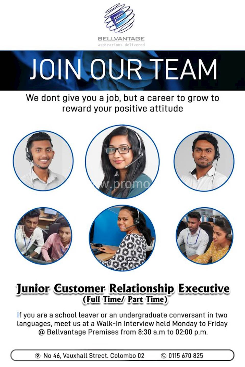 Junior Customer Relationship Executive