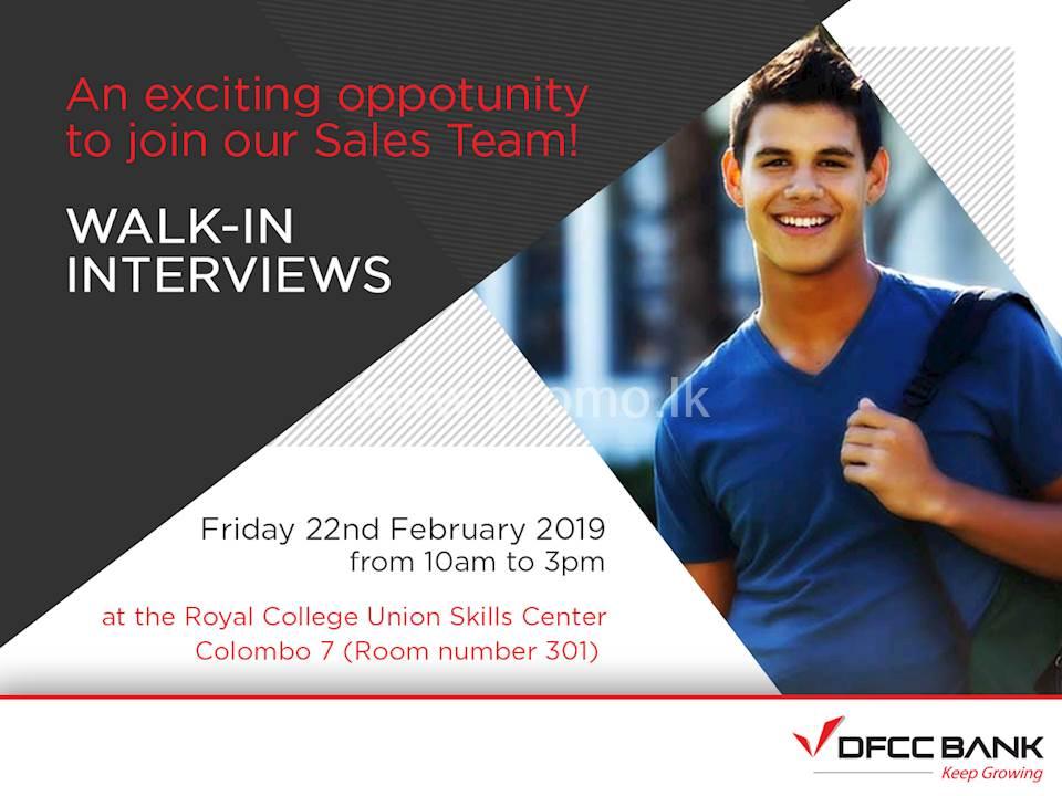 Walk-In Interviews