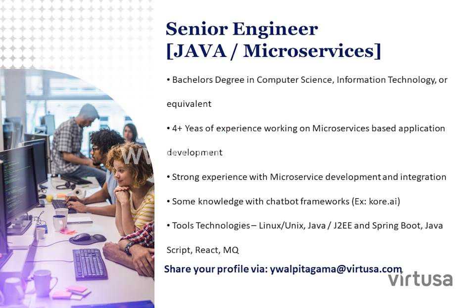 Senior Engineer (Java / Microservices)