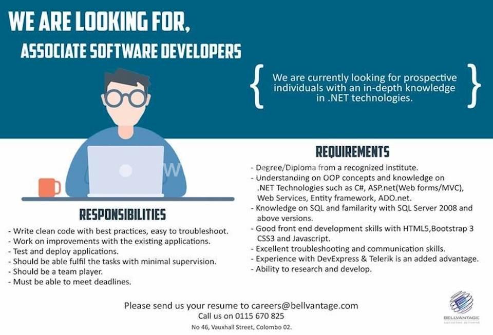 Associate Software Developer