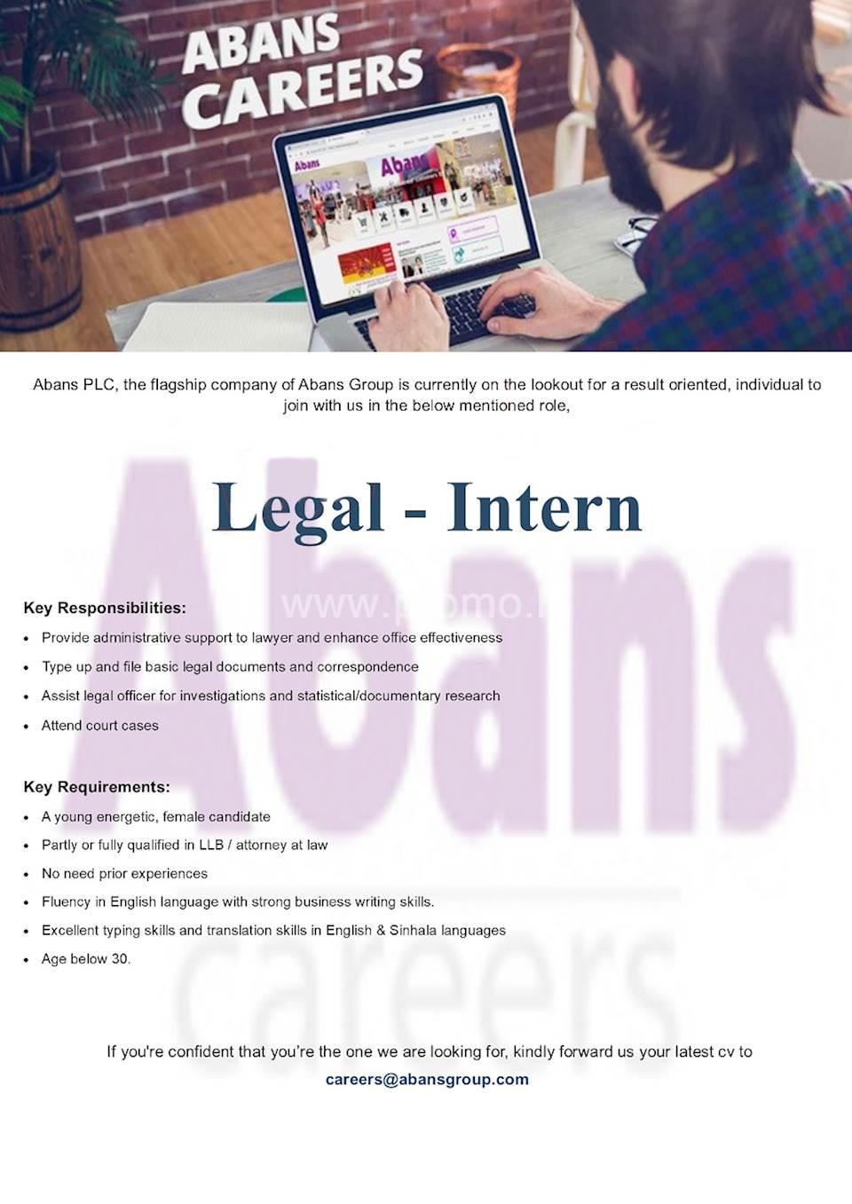 Legal - Intern