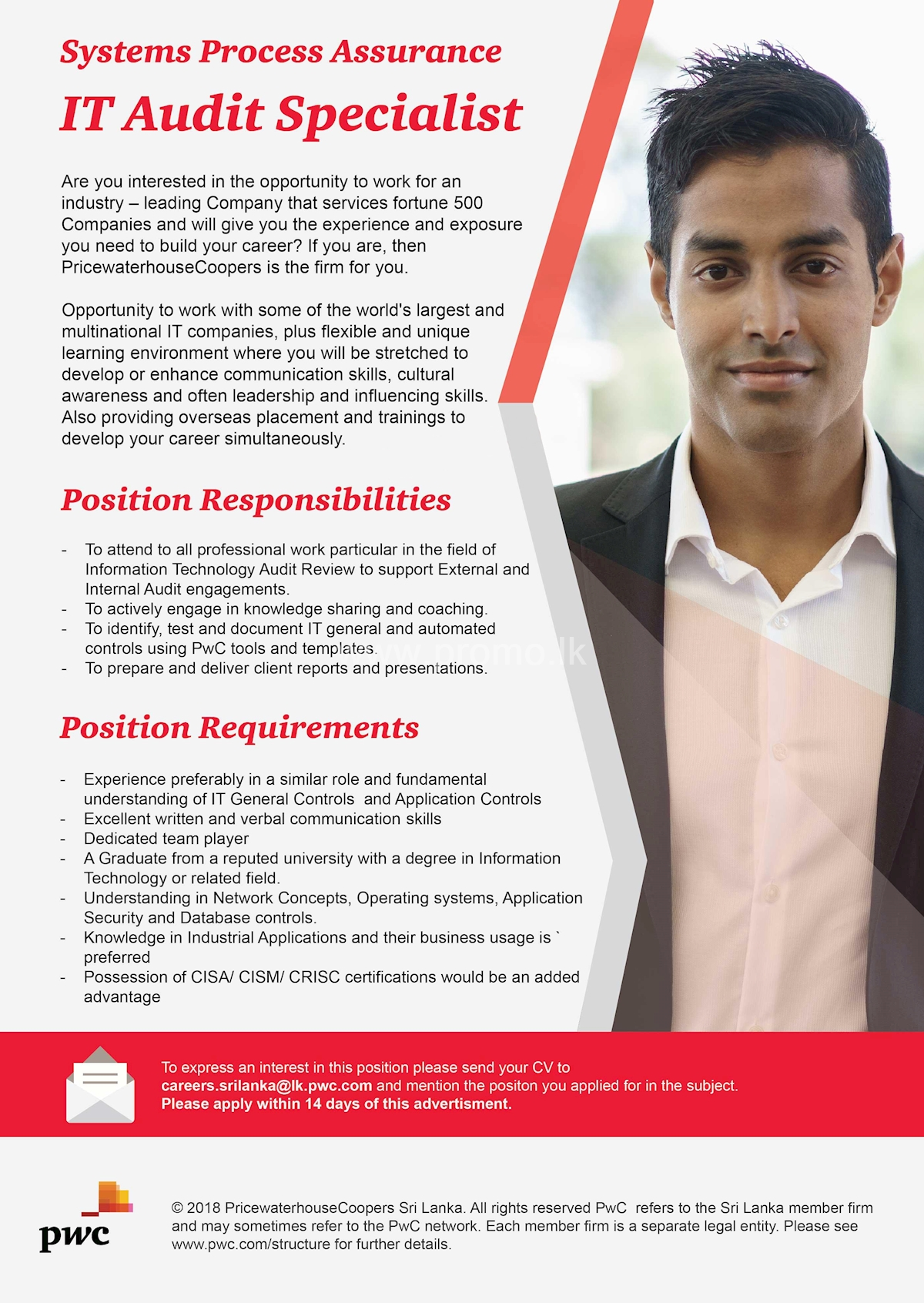 IT Audit Specialist at PWC