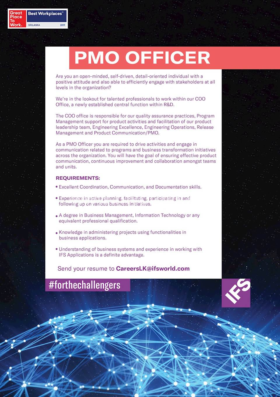 PMO Officer