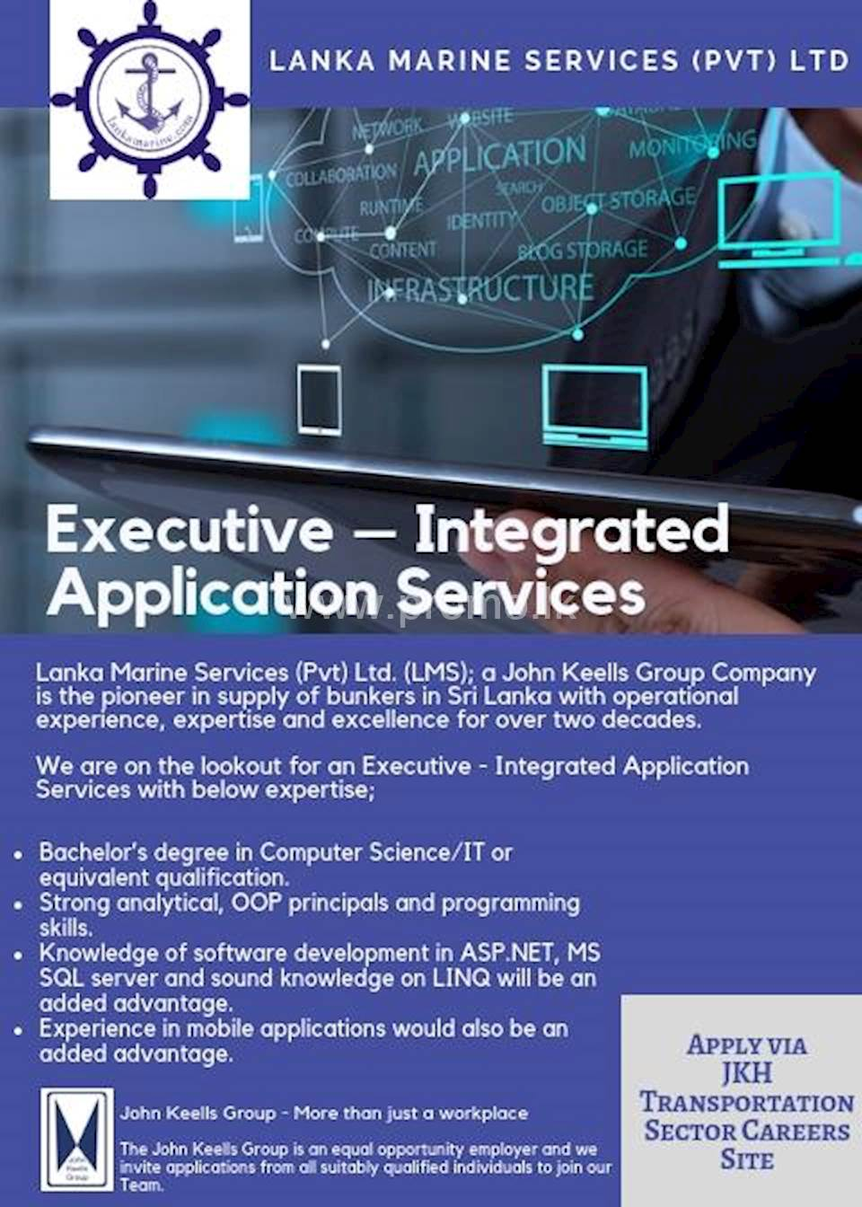 Executive - Integrated Application Services