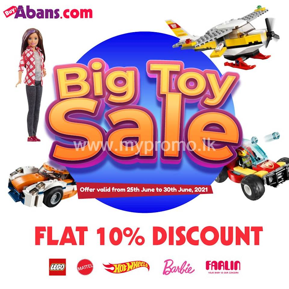BIg Toy Sale at Buyabans.com