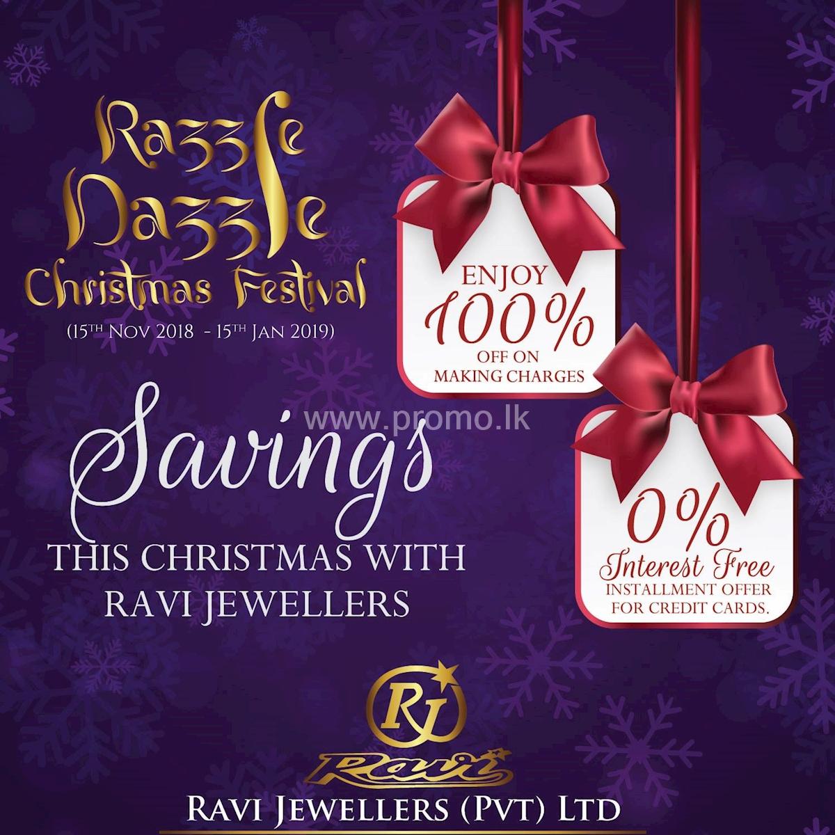 Razzle Dazzle Christmas Festival with Ravi Jewellers