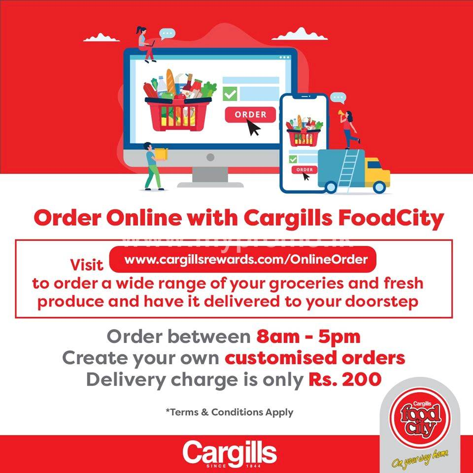 Order online with Cargills Food City