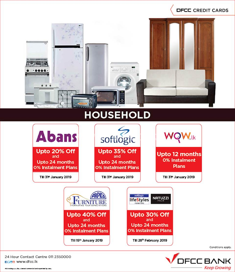 Household Offers with DFCC Credit Cards