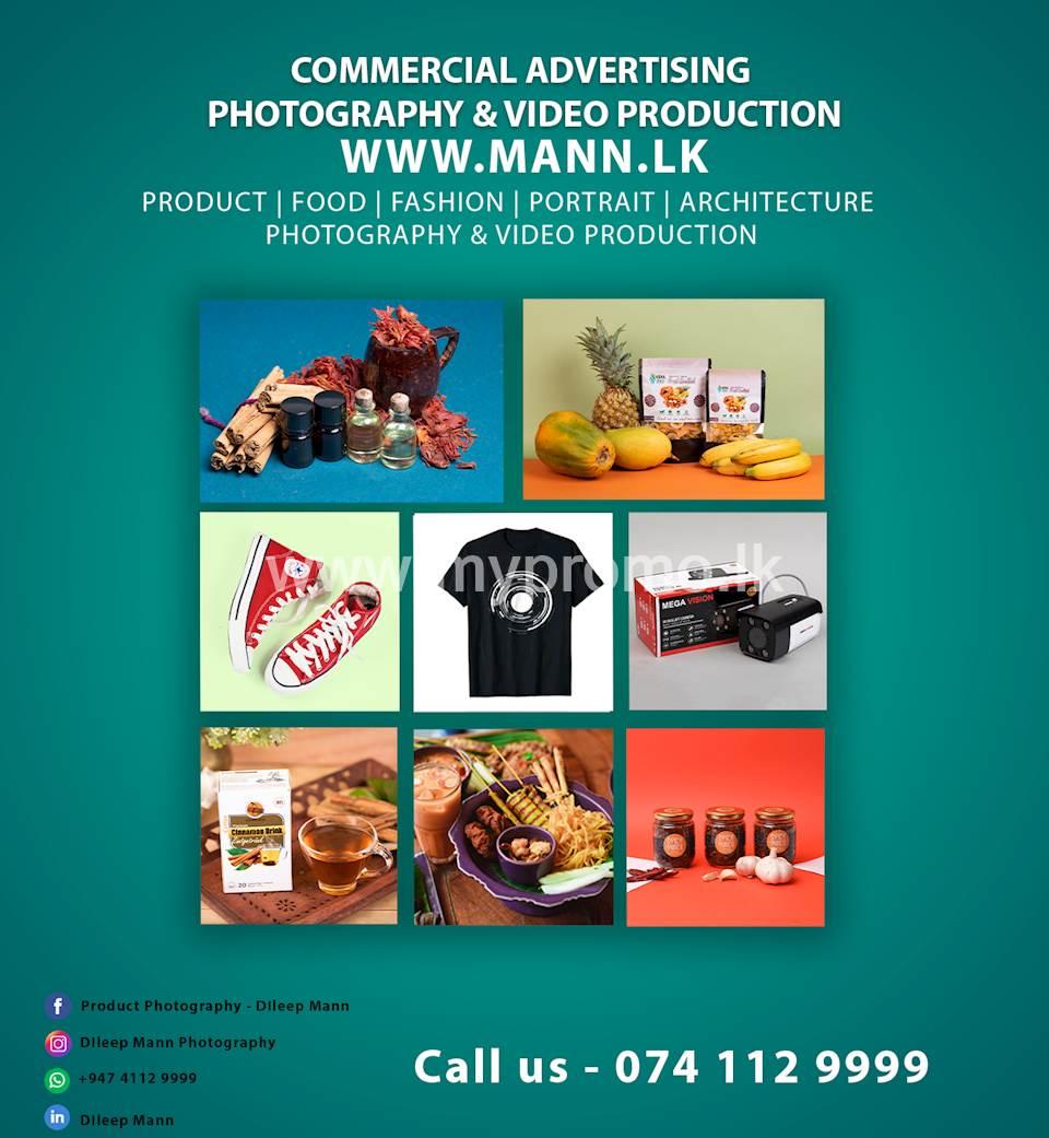 Product Photography Studio Colombo