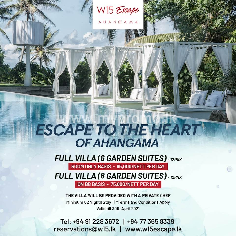 Whole Villa for Rs 65,000 with Garden Suites