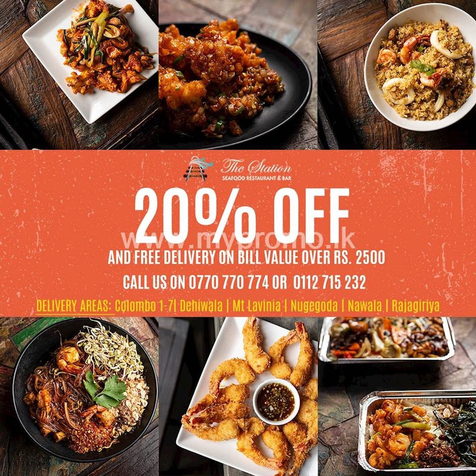 20% off and Free Delivery On Bill Value Over Rs 2500