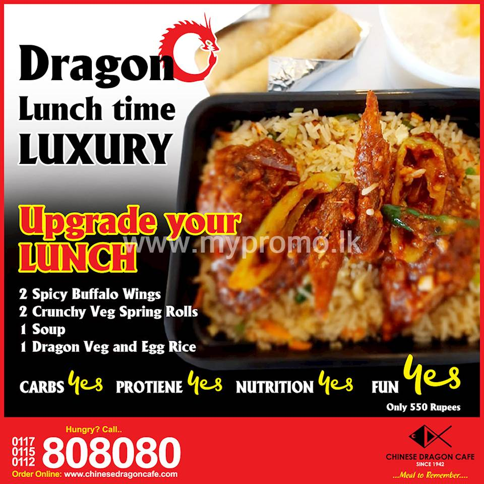 Dragon Lunchtime Luxury at Chinese Dragon Cafe!