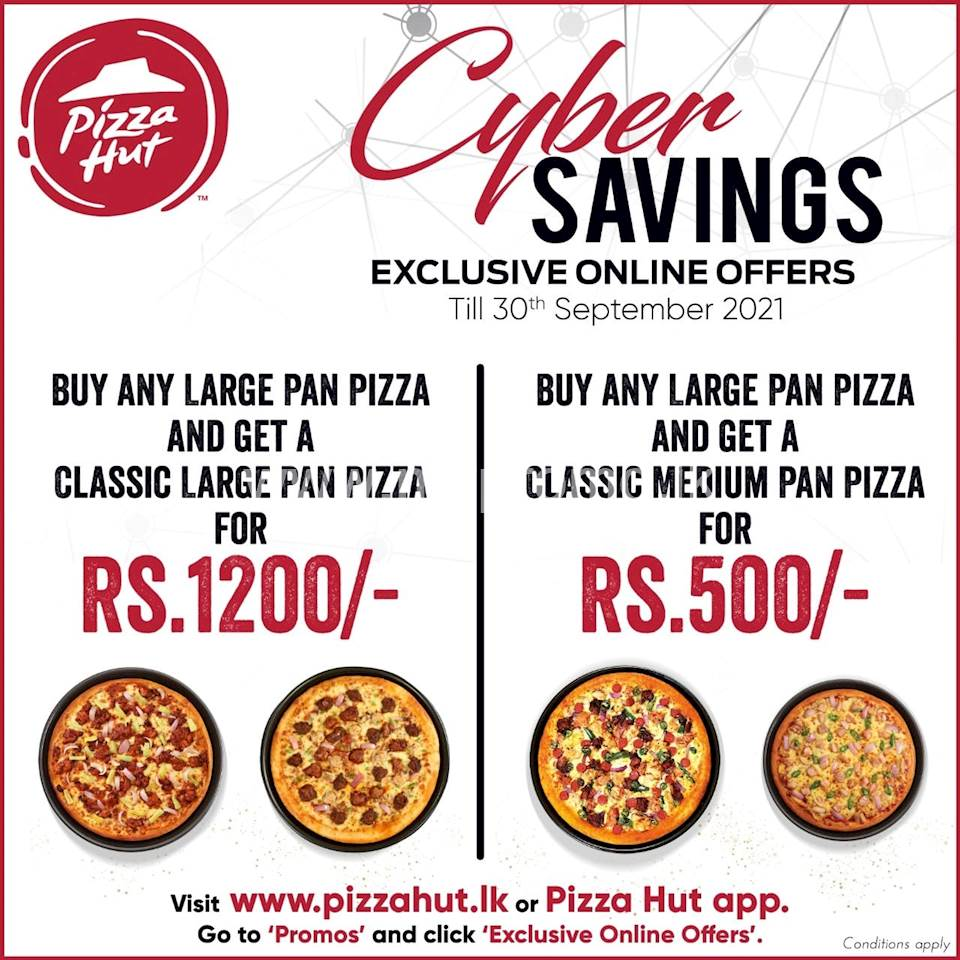Pizza Hut Cyber Savings this September!
