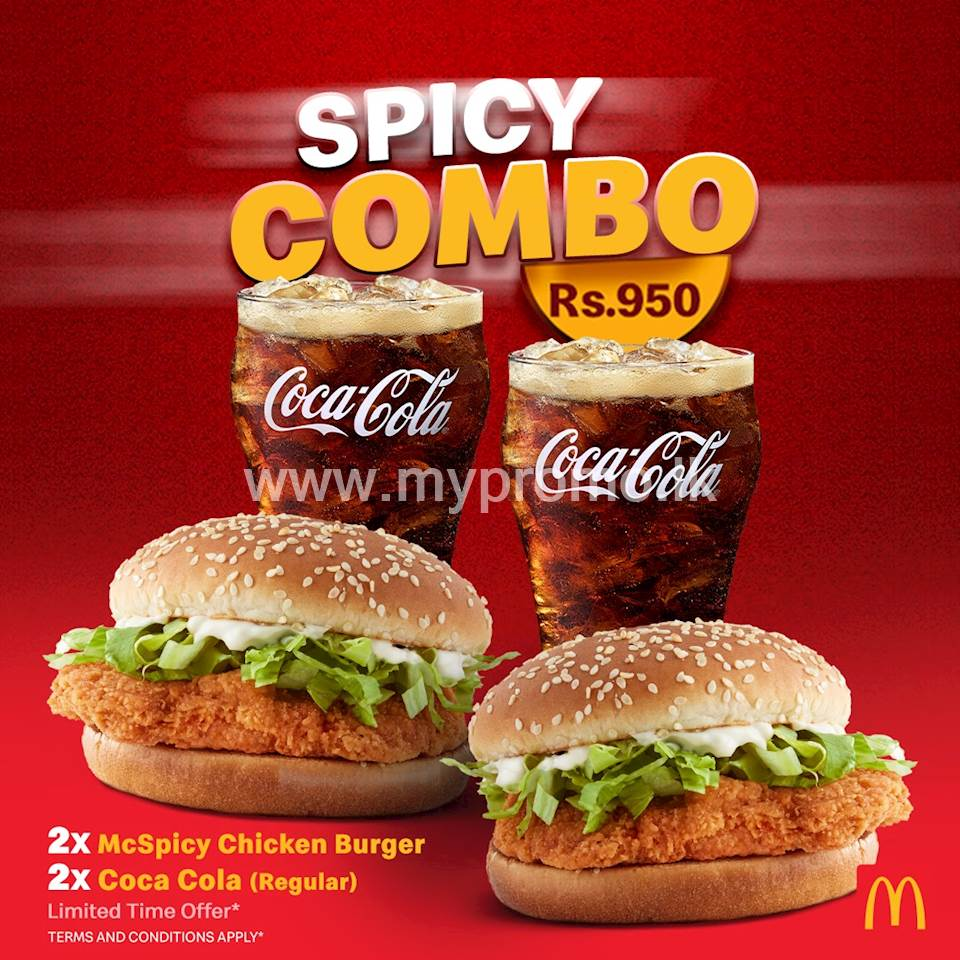 Spicy Combo at McDonalds