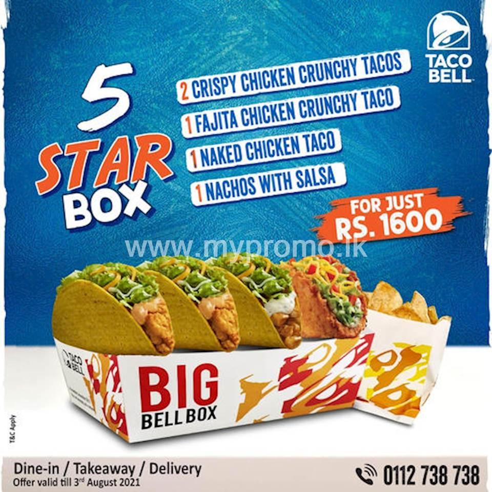 The 5-Star Box at Taco Bell