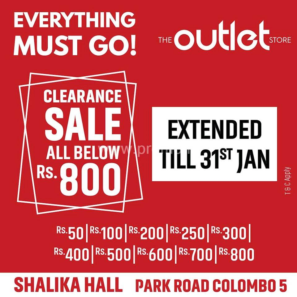 4f6f34b79589 Clearance sale at The Outlet Store