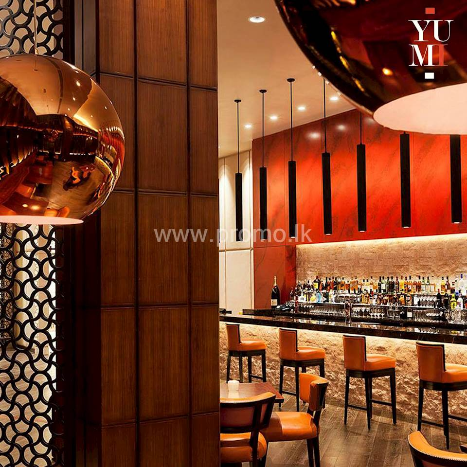 30% Discount Upto 30th June 2020 at YUMI by Taj Samudra Colombo for BOC World Mastercard Credit Card Holders