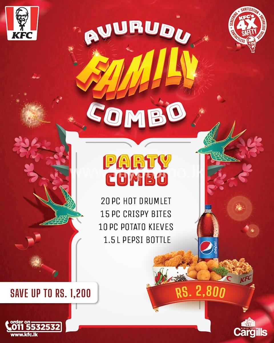 KFC Avurudu Family Party Combo