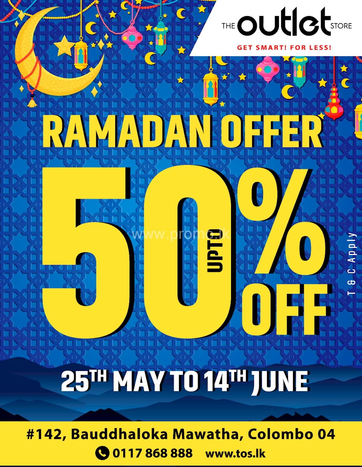 0c30adb9836a0c Ramadan Offer for upto 50% off at The Outlet Store