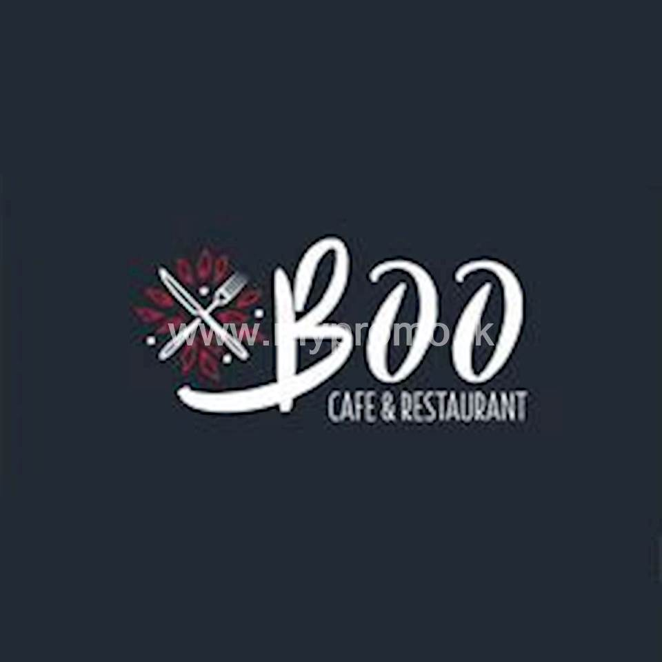10% discount on burgers & submarines at Cafe By Boo for HNB Credit Cards & Debit Cards