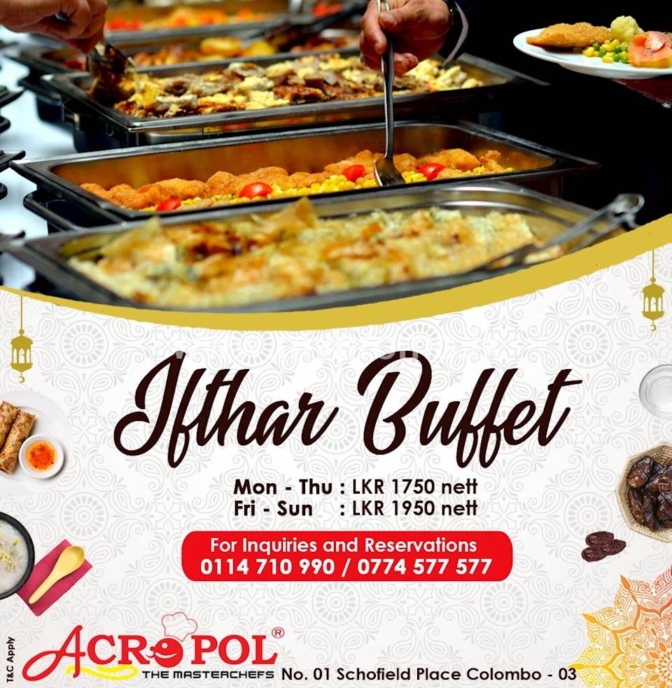 Ifthar Buffet at Acropol Restaurant