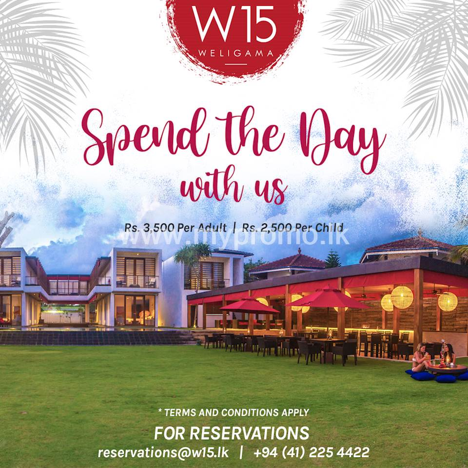 Spend the day with us!